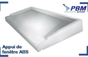 Appuis de fenêtres ABS1